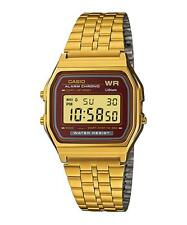Reloj digital Casio A159wg-5 cronometro alarma calendario
