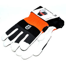 GENUINE HUSQVARNA CLASSIC PROTECTIVE GLOVES FORESTRY LEATHER SIZE 10 (579379910)