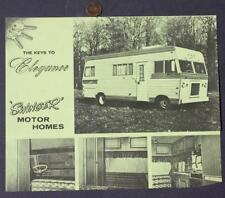 1960s Era Elkhart,Indiana Swinger Motor Home-RV-Fifth Wheel Camper brochure #ONE