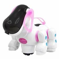 I ROBOT DOG Walking Nodding Children Kids Toy Robots Pet Puppy iDog Light PINK