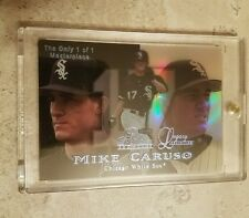 1999 Flair Showcase Legacy MASTERPIECE 1/1 Mike Caruso