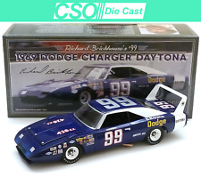 Richard Brickhouse 1969 Dodge Daytona University of Racing 1/24 Die Cast INSTOCK