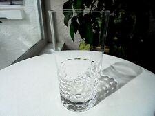 "Hoya Candlewood Pattern High Quality Clear Crystal Highball Glass 5 1/2"" Tall"