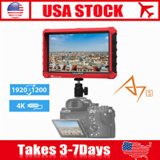 "Lilliput A7s 7"" 1920x1200 4K HDMI DSLR Camera field monitor DJI Ronin M LP-E6"