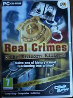 Real Crimes : The Unicorn Killer (PC: Windows, 2010), Free Postage, A11