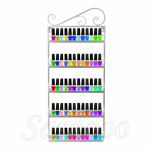 5 Ablagen Nagellack Regal Organizer Wandregal Lippenstiftständer Aufbewahrung