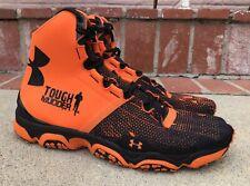Under Armour Speedform XC Mid Trail Size 11 Mens Tough Mudder Orange 1246698-863