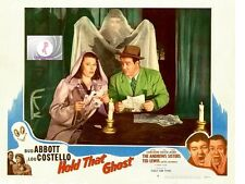 ABBOTT  COSTELLO HOLD THAT GHOST LAB REPRODUCTION 8 X 10  JOAN DAVIS NEW