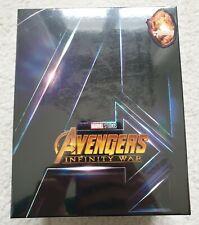 Blufans Avengers Infinity War One Click Box Steelbook