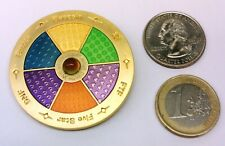 ~ Mood Geocoin Color Change 3D Unactivated Trackable Funky !!!