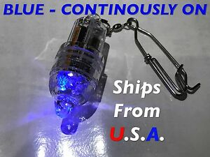 Deep Drop LED fishing light, BLUE, Grouper, Swordfish, FREE shipping from USA