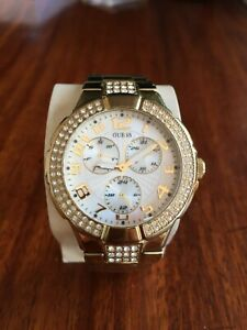 GUESS G13537L Gold Ladies Watch