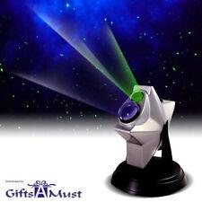Laser Stars Twilight Projector Romantic Night Light Show hologram Cosmos Galaxy