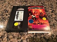 The Scorpion King VHS! Spanish Mexi Action! The Mummy Snitch Van Helsing