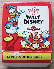 FILM OFFICE Super 8 UN DESSIN ANIME DE DISNEY - LE PETIT CHAPERON ROUGE -* RARO!