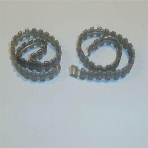 Dinky Toys Tracks Pair Type A #1 Silver Treads 353 Shado 622 690 691 694 977 984