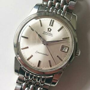 OMEGA SEAMASTER CAL.562 Date Automatic Silver Dial Watch #2