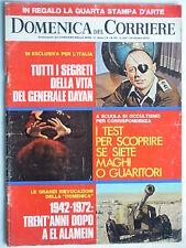DOMENICA DEL CORRIERE   24 ottobre  1972   N. 43