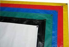 Blank Vinyl Sign Banner, 3 X 8, 14oz, PURPLE color, grommets , hemmed