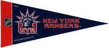 "NEW YORK RANGERS~BRAND NEW NHL HOCKEY TEAM MINI SOUVENIR 9"" MINIATURE PENNANT"