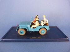 Tintin - Ojectif Lune - Voiture Jeep miniature 1/43ème