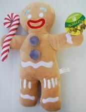 "Dreamworks Shrek Movie 19"" Gingerbread Man Gingy Plush Stuffed Animal Toy NWT"