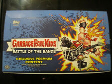 Garbage Pail Kids 2017 Battle O The Bands Empty Collector Box, Insert & Wrappers