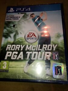 Rory McIlroy PGA Tour PS4 | PAL, Brand New & Sealed (damaged Seal Top Corner)