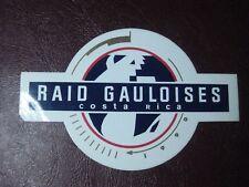 autocollant ancien : Raid Gauloises Costa Rica