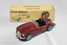 SEAR MODELS KIT MG A MGA M.G.A. MAROON NEAR MINT BOXED RARE SELTEN!!!