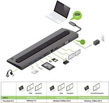 Docking Station - For Laptop - Iogear - Model # Gud3C02B