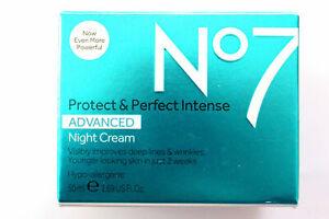No7 Protect & Perfect Intense Advanced NIGHT Cream - Hypo-Allergenic - 50ml