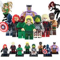 Vance Astro Minifigure Wrecker Balder Marvel DC Figure Custom Lego Minifigures