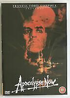 Apocalypse Now DVD, 1979 Marlon Brando Robert Duvall Martin Sheen Dennis Hopper