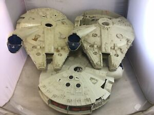 Job Lot 3 Vintage Kenner Star Wars Millennium Falcon
