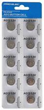 10 Pack Alkaline AG13/LR4 Button Cell Battery Toy Camera Keyfob Torch Watch Car
