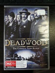Deadwood The Complete Third Season 3 DVD Region 4 NEW