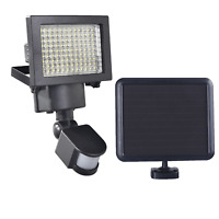 120 SMD LED 1200 Lumens All Weather Solar Powered Motion Sensor Security Light