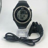 iFit Fitness Mens Black GPS Multifunction Activity Tracker Digital Wristwatch