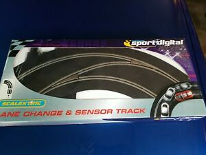 Scalextric C7007 SSD sport digital- 90 curve out to in, left hand lane change