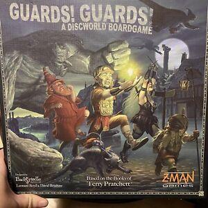 Guards Guards A Discworld Board game - Terry Pratchett