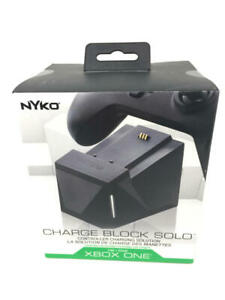 Nyko Charge Block Solo - Controller Charging Station with Rechargeable Battery,