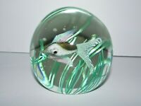 Vintage Murano Art Glass Fish Paperweight 889-2