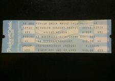 Willie Nelson Ticket 8/12/1983 Chicago Poplar Creek Make An Offer!