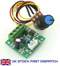 PWM Motor Speed Controller Automatic DC Motor Regulator Control Low Voltage UK