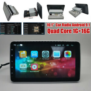 """10.1"""" Car Quad Core Radio Android 10.0 Stereo GPS Navi WiFi Player Up-Down USB"""