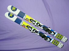 ROSSIGNOL Terrain Jr Kid's SKIS 116cm w/ LOOK Kidx Youth adjustable Bindings ❆