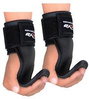 EVO Weight Lifting Neoprene Palm Gel Pads Gym Straps Wrist Support Hand Grips