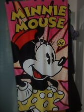 MINNIE MOUSE DISNEY  TOWEL/BEACH  BATH TOWEL