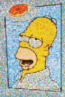THE SIMPSONS HOMER SIMPSON PRIDE POSTER 22X34 NEW FAST FREE SHIPPING